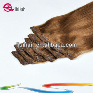 2013 Hot Unprocessed Super Big Sale Newest Natural Top Quality Asian Clips Hair Wholesale