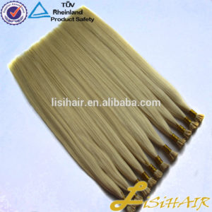 Factory price no shed no tangle virgin remy double drawn russian nano ring hair extension