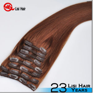 High Quality Cheap 100% Brazilian Human Hair Full Head Clip In Remy Hair Extension