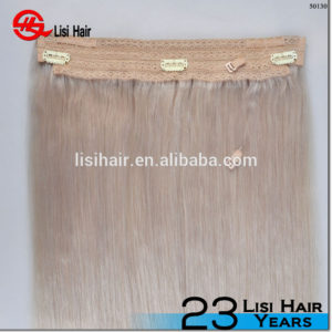 High Quality Double Drawn Remy Hair Fish in Hair Halo Hair