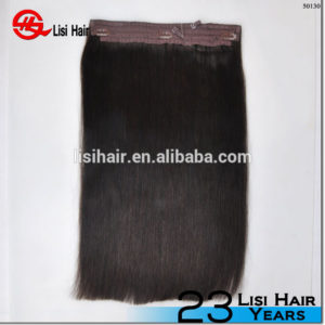 Last Ability 100% Unprocessed deep wave wholesale price halo hair extensions