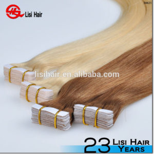 Long Lasting Double Drawn Soft Tight No Tangle No Shedding Remy tape hair extension