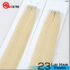 New arrival tape hair extension 2016 virgin russian straight hair