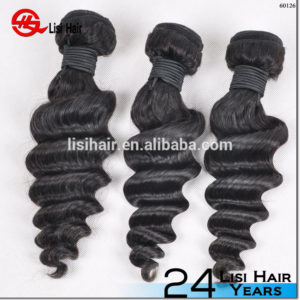 Wholesale No Tangle No Shedding Bleach Dyeable One Donor Raw Unprocessed 10A K-Braid deep wave hair
