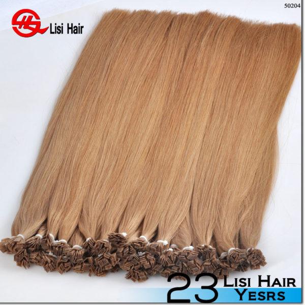 100 percent Human Virgin Brazilian Hair Full Keratin Hair