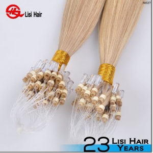 2015 Alibaba Express Italian Glue Top Quality Cheap Remy micro line of hair extensions