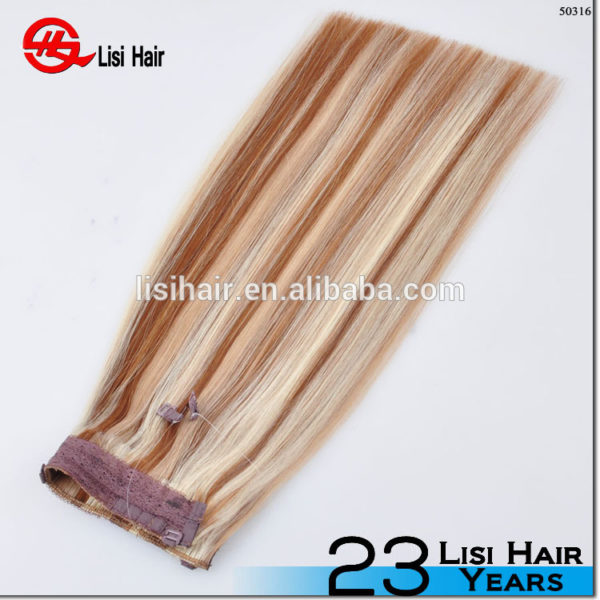 High Quality Isabel Fashionable Halo Hair Extension wholesale price halo hair extensions