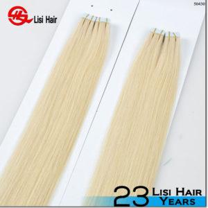 New arrival tape hair extension 2016 virgin russian straight hair