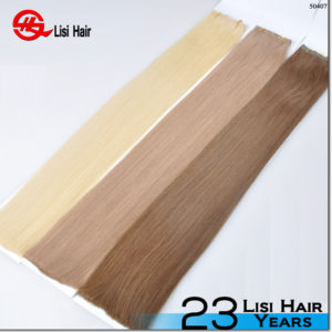 """Top quality 7A virgin Brazilian tape hair 10""""-30"""" 100% unprocessed cheap wholesale tape hair extension"""