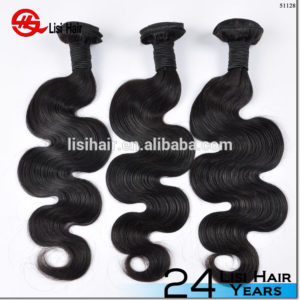 Wholesale Big Stock 100% Unprocessed Virgin Full Cuticle body wave hair